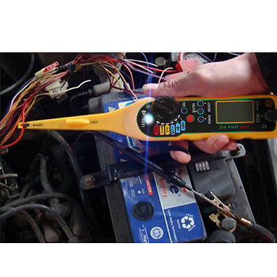 Multi-function Auto Circuit Tester Multimeter Lamp Car Repair Diagnostics Tool