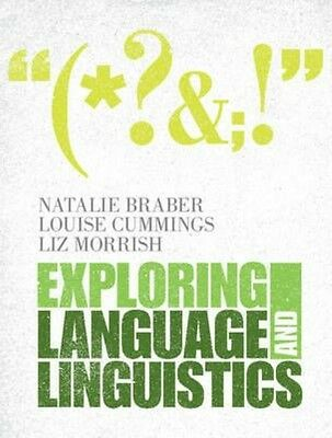 Exploring Language and Linguistics by Natalie Braber Hardcover Book (English)