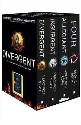 Divergent Series Box Set (Books 1-4 Plus World of Divergent) by Veronica Roth Pa