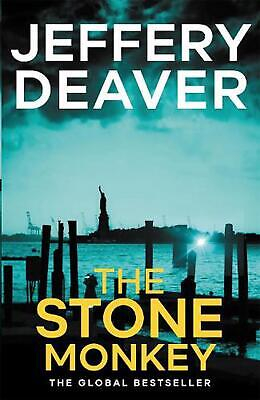 The Stone Monkey: Lincoln Rhyme Book 4 by Jeffery Deaver Paperback Book Free Shi