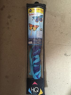 HQ Butterfly Stalachtis Single Line Kite 130cm x 80cm Polyester Rip-Stop Nylon A