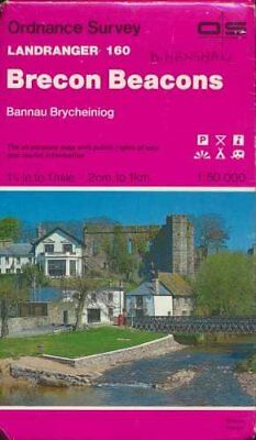 Landranger Maps: Brecon Beacons Sheet 16... by Ordnance Survey Sheet map, folded