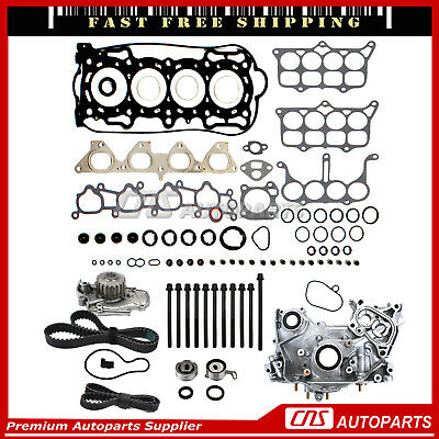 04-08 5.4 Ford Lincoln TRITON 3-Valve Timing Chain Cam Phaser Water Oil Pump Kit