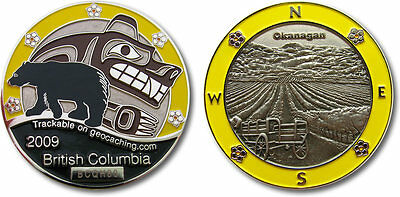 BC in Yellow Collectible Coin
