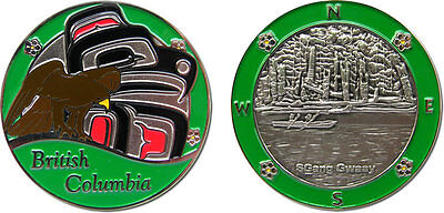 BC in Green Collectible Coin