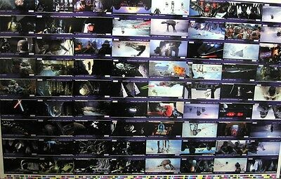Star Wars Promo Uncut Set 1995 Topps Widevision ESB sheets Empire Strikes Back