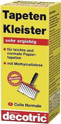 Wallpaper Paste paste with Methyl cellulose 125 g of decotric