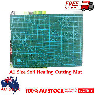 A1 Size Self Healing Non Slip Craft Quilting Printed Grid Line Board Cutting Mat