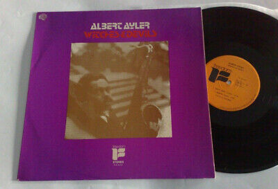 Albert Ayler Witches & Devils 1972 Freedom France Reissue Lp