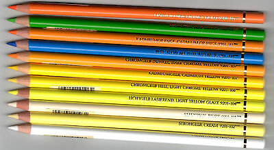 FABER CASTELL Polychromos single pencils colours free selectable no 101-167