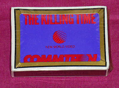 video store promo promotional THE KILLING TIME playing cards
