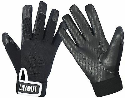 Layout Ultimate Frisbee Gloves - Ultimate Grip and Friction to Enhance Your G...