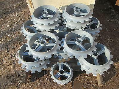 """9.5"""" Ductile Iron Cultipacker Wheel for food plot seeding"""