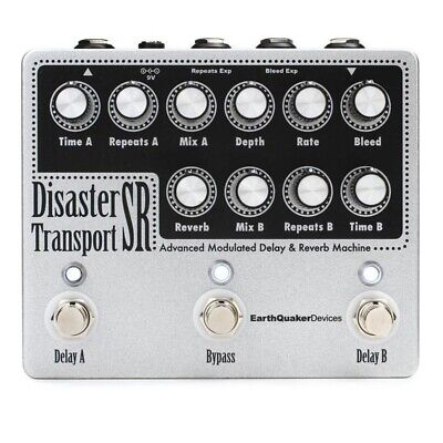 EarthQuaker Devices Disaster Transport SR Advanced Modulated Delay & Reverb Mach