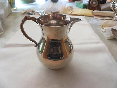 Interesting W.W. 2 Related English 1943 Sterling Silver Cream Pitcher, Free Ship