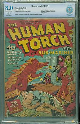 Human Torch #2 [1940] Certified[8.0] Hooded Menace