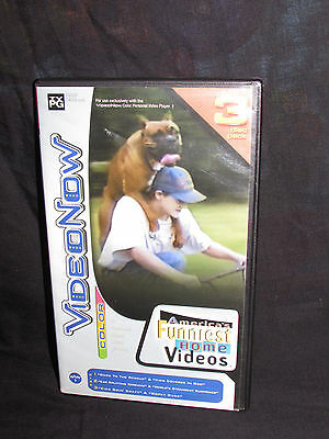Video Now Color 3 Disc Pack americas funniest home videos videonow
