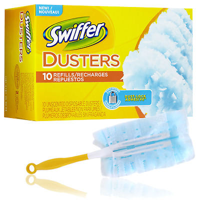 Swiffer Duster Disposable Unscented Cleaning Dusters Magnet Wiping Refills
