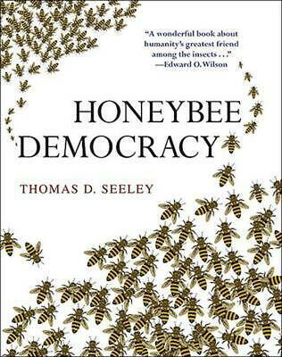 Honeybee Democracy by Thomas D. Seeley (English) Hardcover Book Free Shipping!