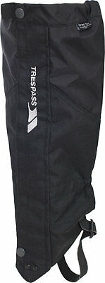 Trespass Nanuk Adult Waterproof Breathable Gaiters Mens Womens High Performance