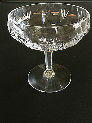 Gorham BAMBERG Crystal Champagne/Sherbert/Compote Excellent: Multiple Available