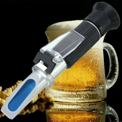 0~32% Brix Wort Specific Gravity Refractometer Fruit Beer Wine Sugar Test