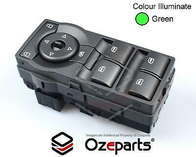 Holden VE Commodore Power Window Master Switch With Green Illumination