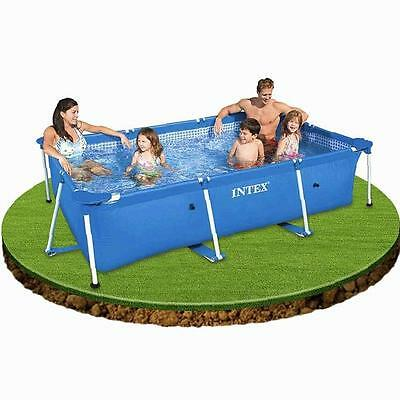 Intex Frame Family Pool Corner Seats Garden Relax Above Ground Swimming Pool NEW