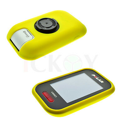 Road/Mountain Bike Cycling Yellow Protect Silicone Case For GPS Polar V650