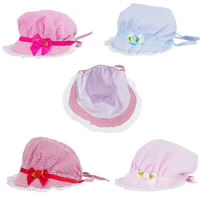 3-24Months Newborn Girl Baby Outdoor Bucket Hat Summer Sun Hat Bonnet Beanie Cap