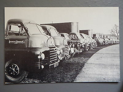 R&L Postcard: Motor Cards Modern Repro, London Carrier's, Bedford Lorries
