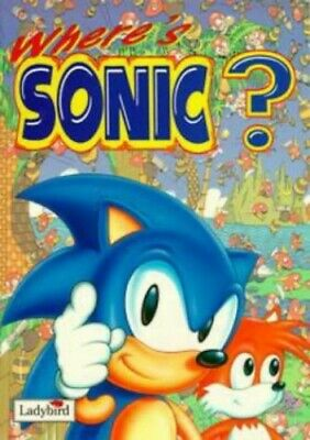 Where's Sonic? (Search Books) Paperback Book The Cheap Fast Free Post