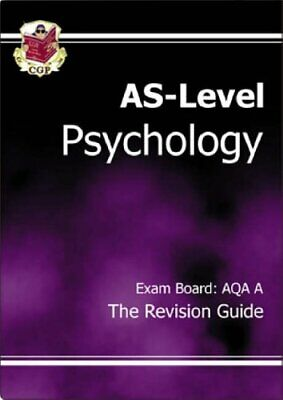 AS-Level Psychology AQA (A) Revision Guide by CGP Books Paperback Book The Cheap