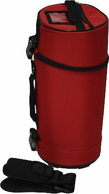Humes Berg Galaxy 8010R Red Grip Bag for Drumstick