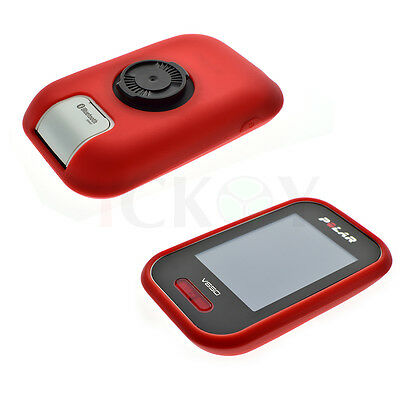 Road/Mountain Bike Cycling Red Protect Silicone Case For GPS Polar V650