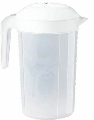2L 2 Litre Plastic Jug Juice Water Drink Pitcher Table Party Dining BBQ Cocktail