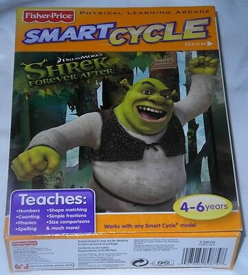 Fisher-Price SMART CYCLE Software - Dream Works Shrek Forever After 4-6 Years