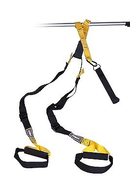 Live Up Sports Total Bodyweight Suspension Training Straps - Home Gym