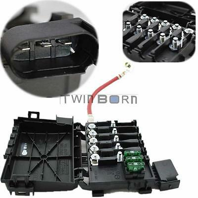 1j093 7617d new fuse box battery terminal for volkswagen golf for 99 04 vw jetta golf mk4 black plastic fuse box battery terminal 1j0937550a