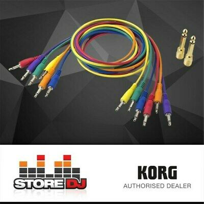 Korg SQ- Cable-6 Patch Cables For SQ-1