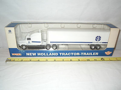 New Holland Semi With Van Trailer  By Ertl 1/64th Scale