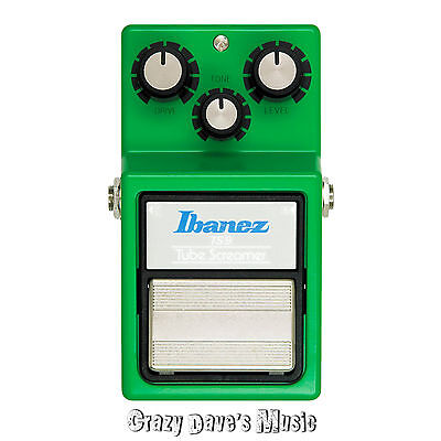 NEW Ibanez TS9 Tube Screamer Overdrive Effects Pedal