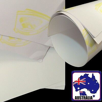 10 Sheets A4 T-Shirt Inkjet Heat Light Color Transfer Paper Film SPAP00401x10