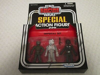 Kenner Star Wars The Empire Strikes Back Special Action Figure Imperial Set