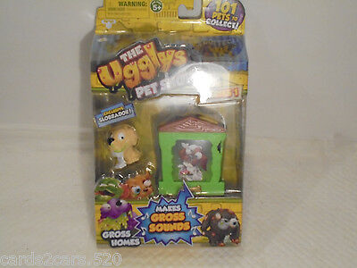 The Ugglys Pet Shop! Bone Home with Exclusive Chucky Chih Series 1 Gross Homes