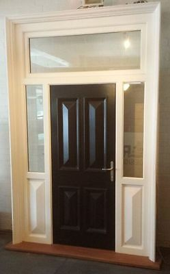 Large Entrance Door Assembly - New - Ex Display Stock - Double Glazed - 50% OFF!