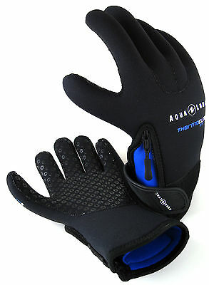 AquaLung Unisex-Adult Thermocline Zip 3mm Gloves
