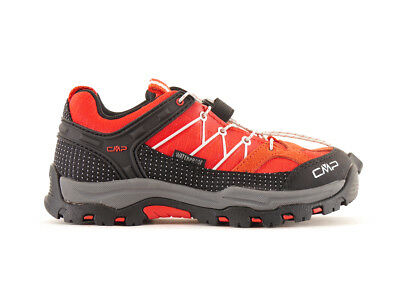 CMP Hiking shoes Trekking shoes red waterproof Textile Quick closure