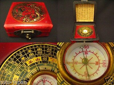 Asian Antique Compass For Fortunetelling ??  (925-13)