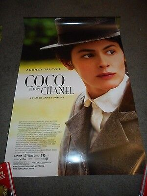 Coco Before Chanel - Original Ss Rolled Poster - 2009 - Audrey Tautou